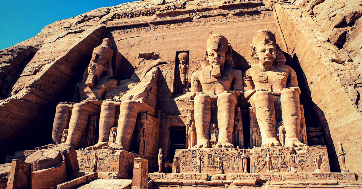 Templo de Abu Simbel día