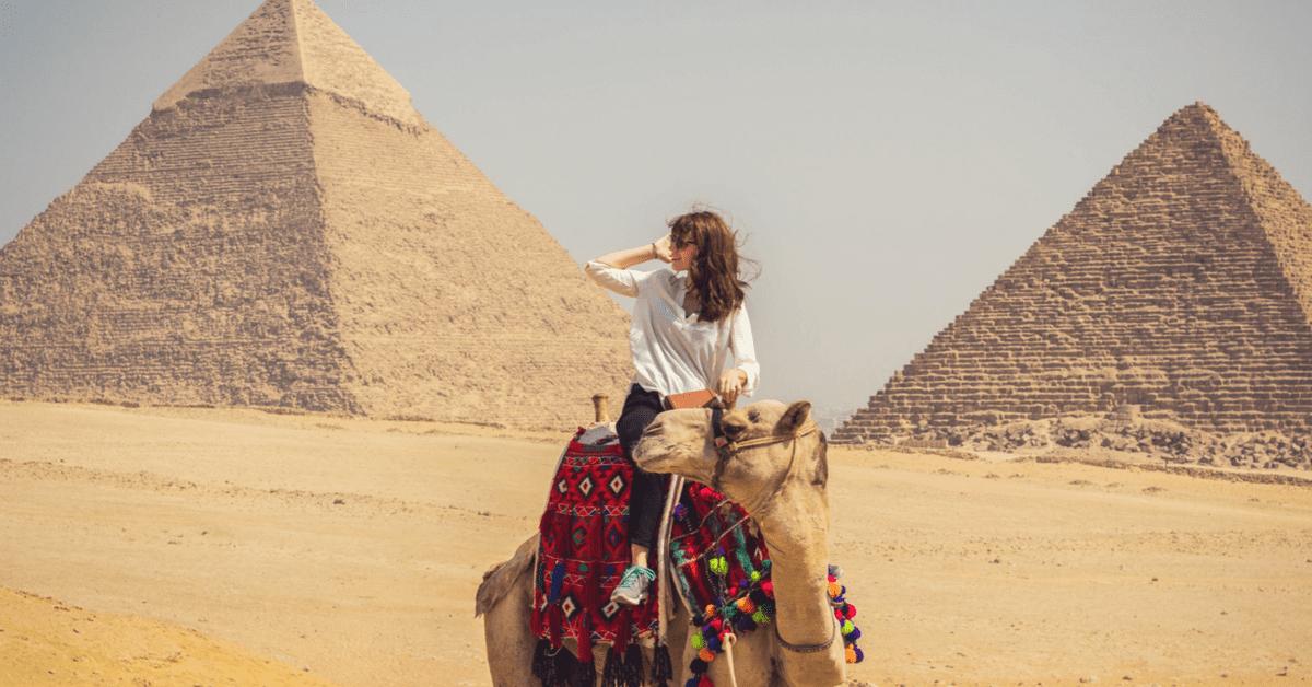 viaje en camello