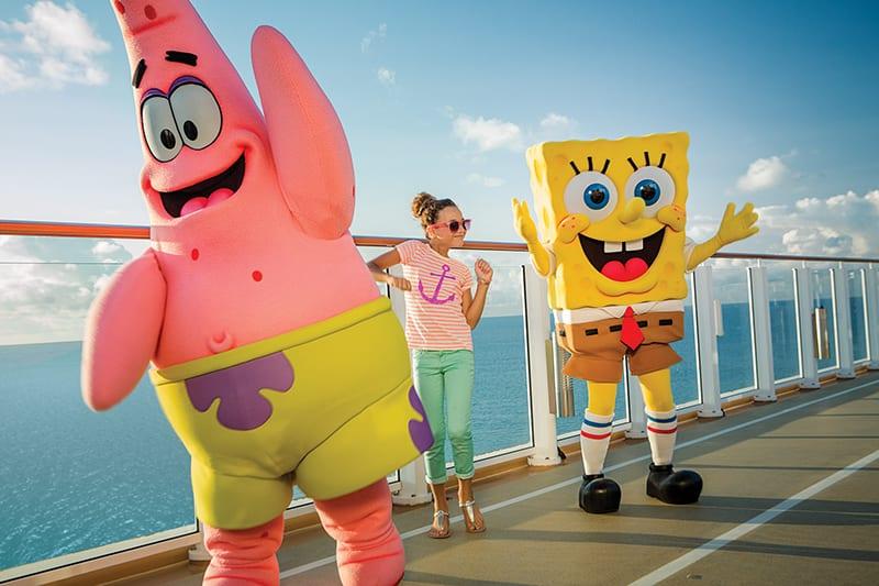 Entretenimiento para niños a bordo de los cruceros