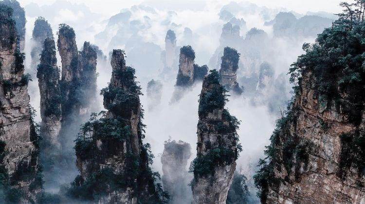 Parque Nacional Zhangjiajie, dónde fue grabado AVATAR, China