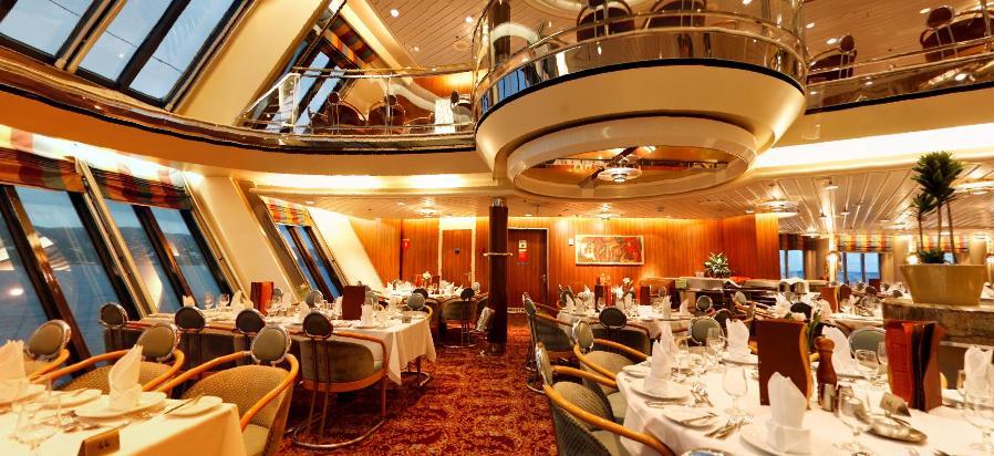 Restaurantes en la naviera