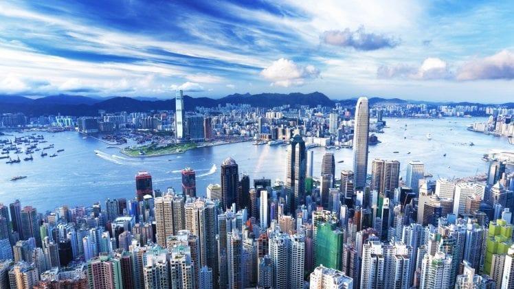 Vista de la ciudad - Hong Kong