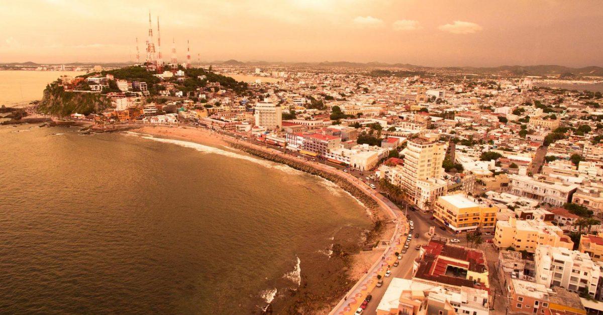 atardecer en Mazatlán