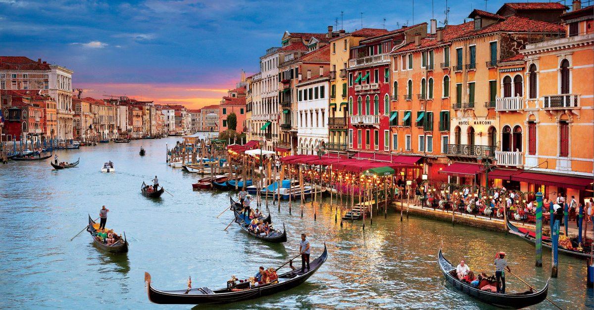 Venecia de tarde