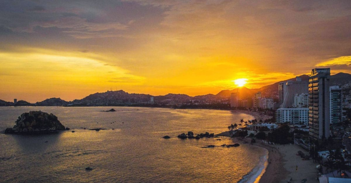 Atardecer en Acapulco