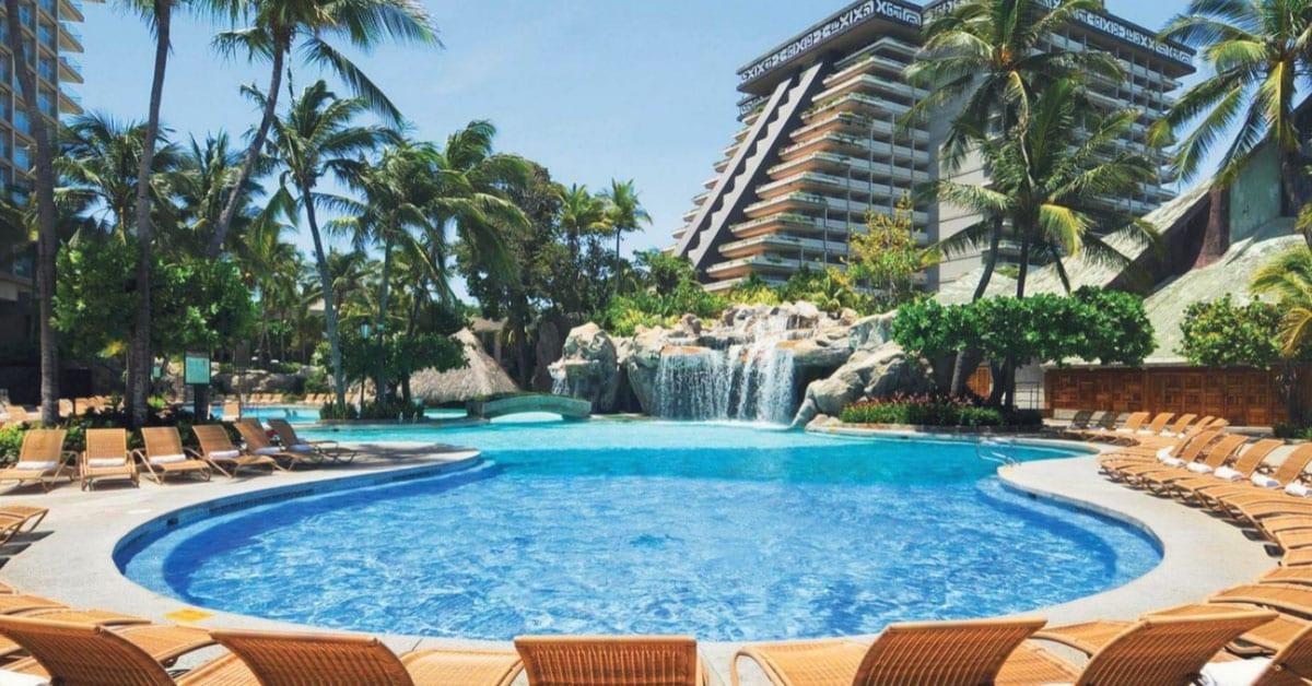 Instalaciones de hotel en Acapulco