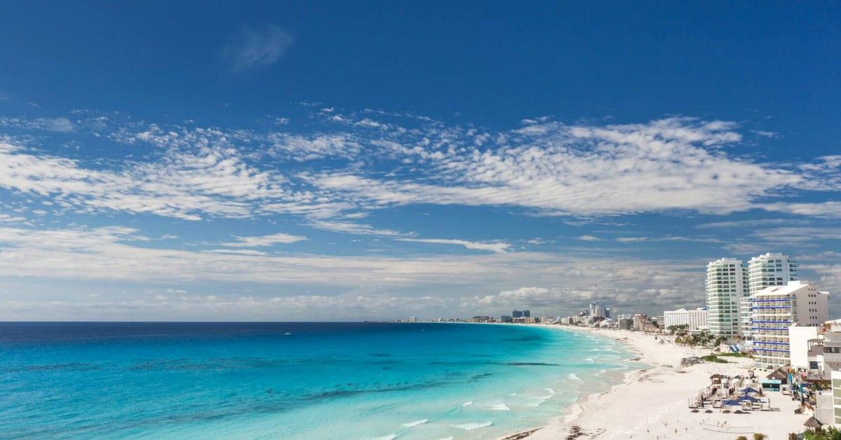 Paisaje increíble en Cancún