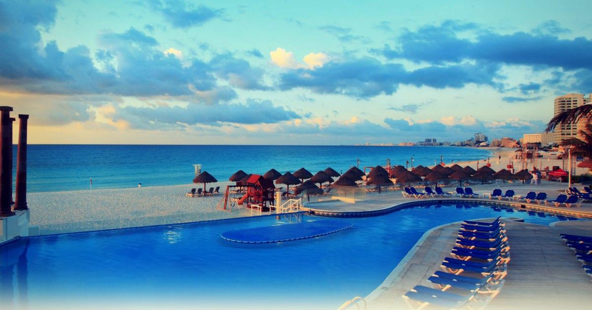 Piscina en Cancún