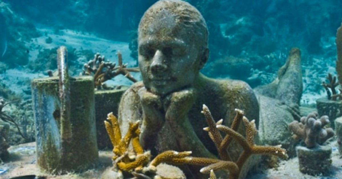 museo en Cancún bajo el agua